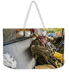 Dying For The Shot Weekender Tote Bag by Caitlyn Grasso