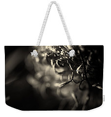 Faded Chrysanthemum Flower Abstract Print Weekender Tote Bag