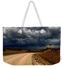 Dying Tornadic Supercell Weekender Tote Bag