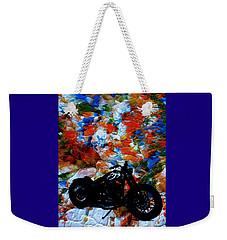 Dyna-might Weekender Tote Bag