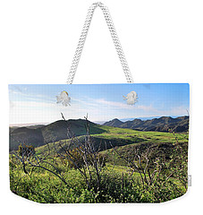 Weekender Tote Bag featuring the photograph Dynamic California Landscape by Matt Harang