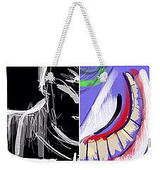 Dynamic Duet Weekender Tote Bag by Jason Nicholas