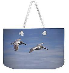 Dynamic Duo Weekender Tote Bag