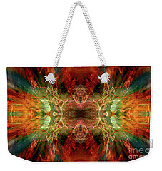 Dynamism Weekender Tote Bag by Tlynn Brentnall