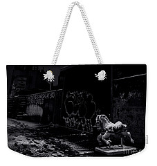 Dystopian Playground 1 - Bw Weekender Tote Bag