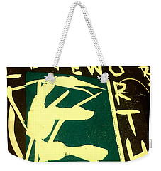 E Cd Cover Art Weekender Tote Bag