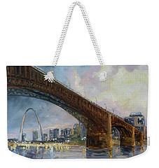 Eads Bridge - St.louis Weekender Tote Bag