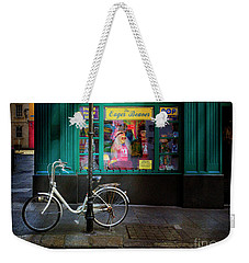 Weekender Tote Bag featuring the photograph Eager Beaver Bicycle by Craig J Satterlee