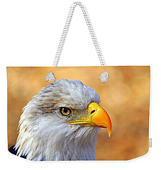Weekender Tote Bag featuring the photograph Eagle 7 by Marty Koch