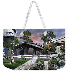 Eagle And The Wolf Weekender Tote Bag