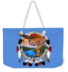 Eagle Dancer Weekender Tote Bag by Glenn Holbrook
