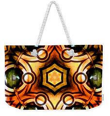 Weekender Tote Bag featuring the digital art Eagle Eye Ray by Derek Gedney