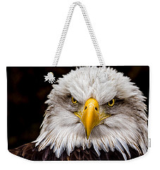 Defiant And Resolute - Bald Eagle Weekender Tote Bag