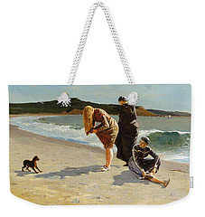 Weekender Tote Bag featuring the painting Eagle Head, Manchester, Massachusetts - 1870 by Winslow Homer