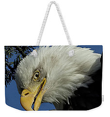 Eagle Head Weekender Tote Bag