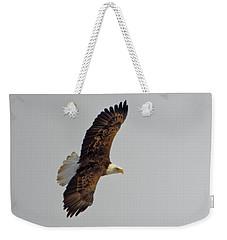 Eagle In Flight Weekender Tote Bag