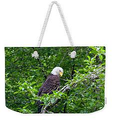 Eagle In The Tree Weekender Tote Bag