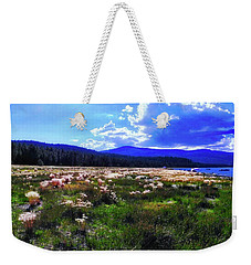 Eagle Lake Afternoon Weekender Tote Bag