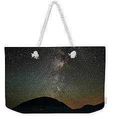 Eagle Lake And The Milky Way Weekender Tote Bag
