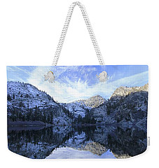 Eagle Lake Dawn Weekender Tote Bag
