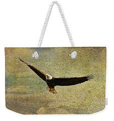 Eagle Medicine Weekender Tote Bag by Deborah Benoit