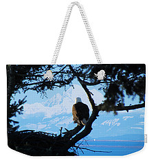 Eagle - Mt Baker - Eagles Nest Weekender Tote Bag