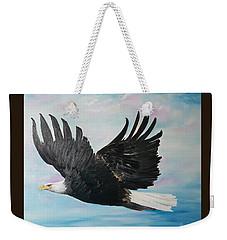 Eagle On A Mission      11 Weekender Tote Bag