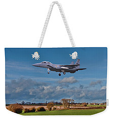 Eagle On Finals Weekender Tote Bag