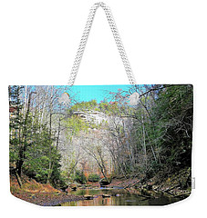 Eagle Point Buttress Weekender Tote Bag