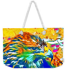 Eagle Pop Art 1 Weekender Tote Bag