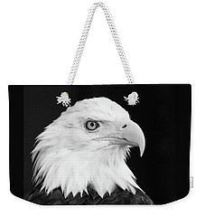 Weekender Tote Bag featuring the photograph Eagle Portrait Special  by Coby Cooper