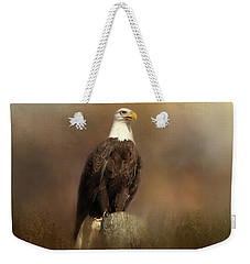 Eagle Sighting Weekender Tote Bag