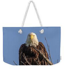 Eagle Stare Weekender Tote Bag