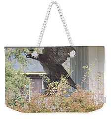 Eagle Statue Weekender Tote Bag by Catherine Gagne
