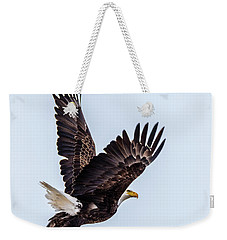 Eagle Taking Flight Weekender Tote Bag