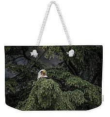 Eagle Tree Weekender Tote Bag by Timothy Latta