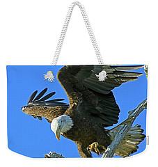 Eagle's Balance Weekender Tote Bag