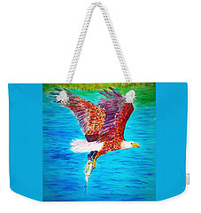 Eagle's Lunch Weekender Tote Bag