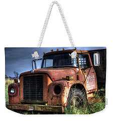 Weekender Tote Bag featuring the photograph Earl Latsha Lumber Company Version 3 by Shelley Neff