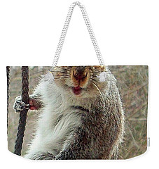 Earl The Squirrel Weekender Tote Bag
