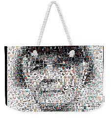 Earl Weaver Mosaic Weekender Tote Bag by Paul Van Scott