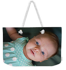 Weekender Tote Bag featuring the photograph Early Adoration by Bill Pevlor