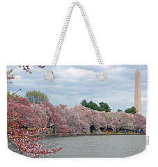 Early Arrival Of The Japanese Cherry Blossoms 2016 Weekender Tote Bag by Emmy Marie Vickers