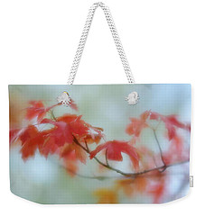 Weekender Tote Bag featuring the photograph Early Autumn by Diane Alexander