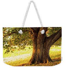 Early Autumn Oak Weekender Tote Bag