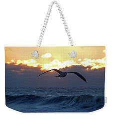 Early Bird Weekender Tote Bag by Newwwman