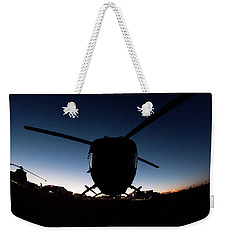 Weekender Tote Bag featuring the photograph Early Bird by Paul Job