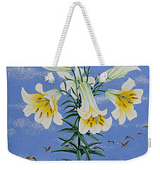 Early Birds Weekender Tote Bag by Pat Scott