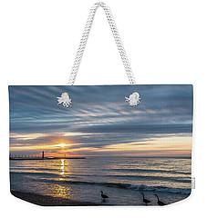 Early Birds Weekender Tote Bag