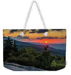 Blue Ridge Parkway Sunrise - Beacon Heights - North Carolina Weekender Tote Bag